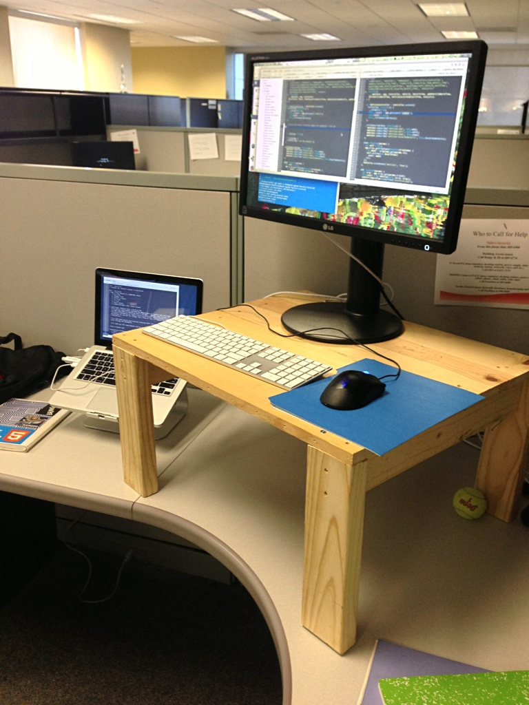... Standing Desk Hack. Material ... Good Ideas